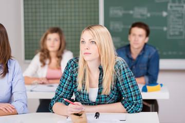 studentin in der uni