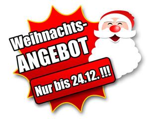 """Siegel """"Weihnachtsangebot - Nur bis 24.12. !!!"""""""