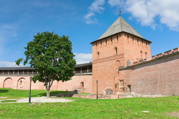 knyazhaya tower (Novgorod Kremlin, Russia)