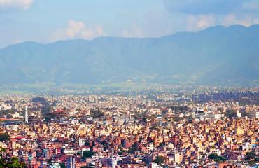 Сapital city of Nepa, Kathmandu