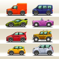 car icon set-2