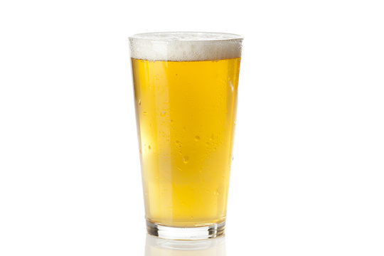 Refreshing Ice Cold Beer