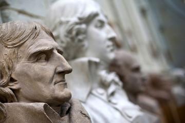 Statue, sculpture, musée, galerie, art, visite, culture
