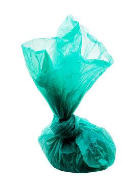 Dog poo in bag