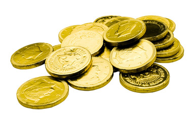 Coins of gold