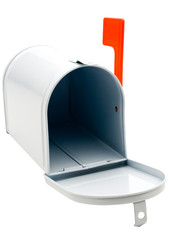 White color mailbox