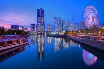 Staande foto Tokyo Yokohama Skyline