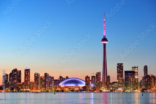 Fototapete Toronto skyline