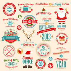 Wall Mural - Christmas set