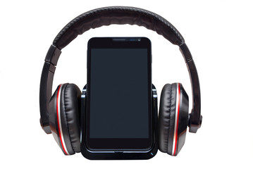 Headphones with mobile