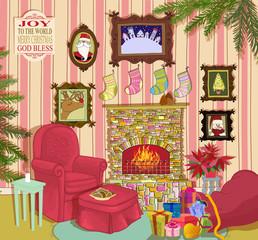 Santa's Living Room: Home, Interior