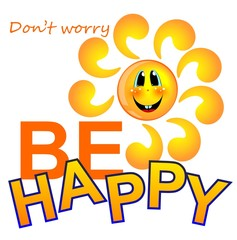 be happy sun