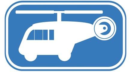 Wall Mural - Chopper