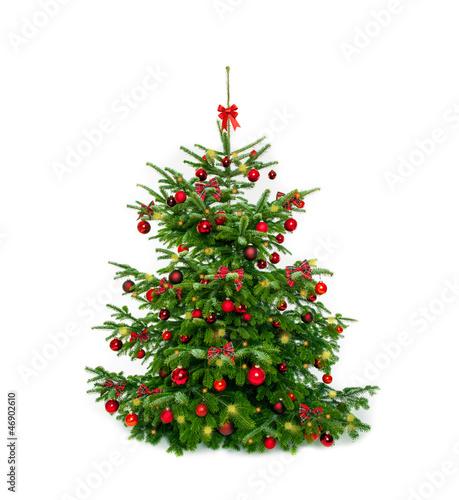 geschm ckter weihnachtsbaum stockfotos und lizenzfreie bilder auf bild 46902610. Black Bedroom Furniture Sets. Home Design Ideas