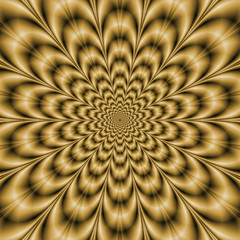 Tuinposter Psychedelic Sepia Eye Bender