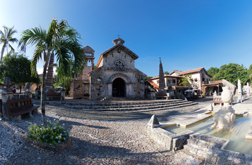 Old village in Dominican Republic (Altos de Chavon).Taken with a