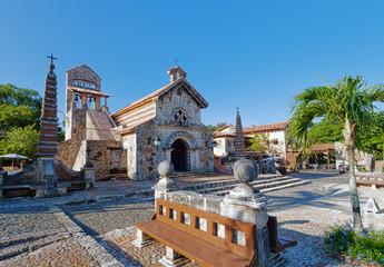Old village in Dominican Republic (Altos de Chavon)