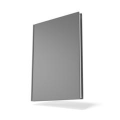 Grey Blank book