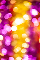 yellow and red bokeh background