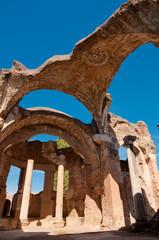 Fototapete - Grandi terme ruins at Villa Adriana at Roma - Italy