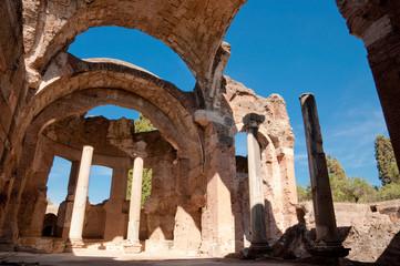 Wall Mural - Grandi terme ruins at Villa Adriana at Roma - Italy