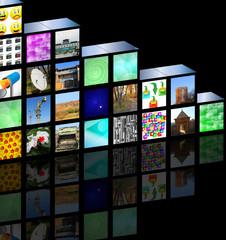 cubic media