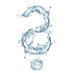 Water Question mark