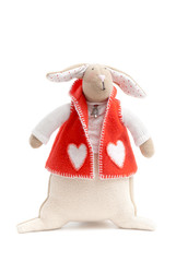handmade toy bunny