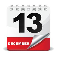 13 DECEMBER ICON