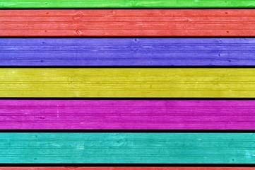 Kolorowe deski.