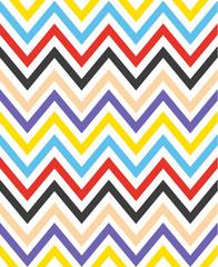 Colorful chevron seamless pattern