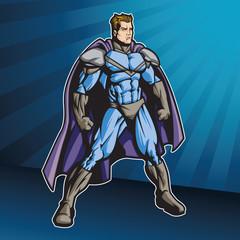 Fotobehang Superheroes Super4 A