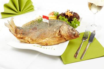 delicious roasted carp