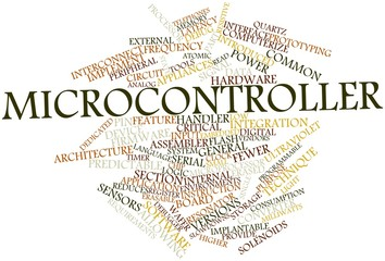 Word cloud for Microcontroller