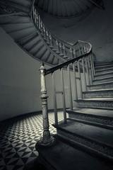 Printed roller blinds Stairs Historyczna klatka schodowa