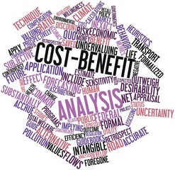 Word cloud for Cost-benefit analysis