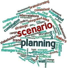 Word cloud for Scenario planning