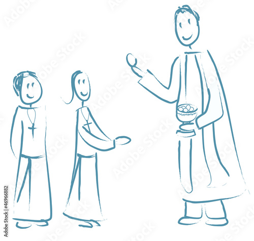 Enfants Première Communion Stock Photo And Royalty Free Images On