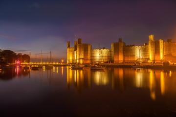 Fototapete - Caernarfon Castle