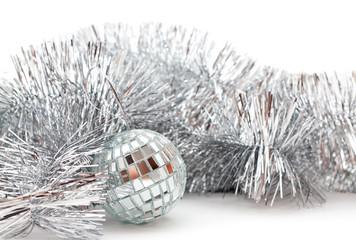 Christmas glassy ball