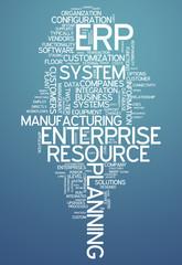"Word Cloud ""Enterprise Resource Planning"""