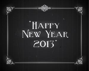Movie still screen - Happy New Year 2013 - Editable