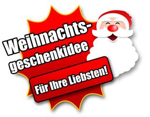 """Siegel """"Weihnachtsgeschenkidee - Für Ihre Liebsten!"""""""