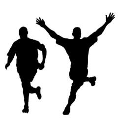 runner people vector