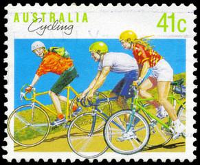 AUSTRALIA - CIRCA 1990 Cycling