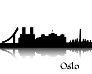 Silhouette of Oslo
