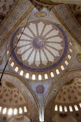 blue mosque interiors