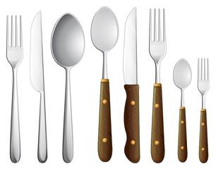 a spoon set