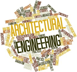 Word cloud for Architectural engineering