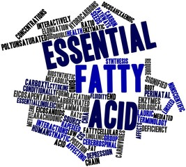 Word cloud for Essential fatty acid